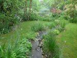 Garten von Marguerite Götz, Elsass, F
